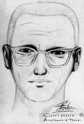 A police sketch of the Zodiac Killer.