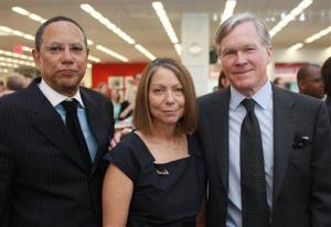 A 2011 photo of Dean Baquet, Jill Abramson, and Bill Keller of the 'New York Times.'