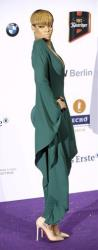 Rihanna arrives for the Echo music awards ceremony in Berlin, Thursday, March 4, 2010.