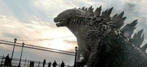 This film image released by Warner Bros. Pictures shows a scene from Godzilla.