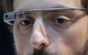 In this Wednesday, Feb. 20, 2013, file photo, Google co-founder Sergey Brin wears Google Glass in San Francisco.