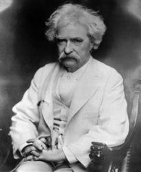 Samuel Longhorne Clemens, better known under his pen name, Mark Twain, is seen in this undated photo.