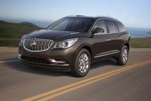 File photo of the 2013 Buick Enclave, one of the vehicles being recalled.