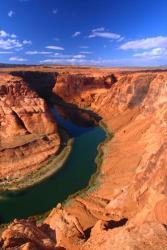The Colorado River winds through Arizona.