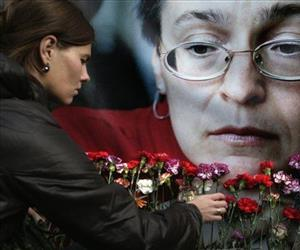 Russian journalist Anna Politkovskaya was gunned down in the elevator of her Moscow apartment building.