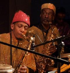 Sun Ra and his Arkestra.