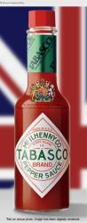 Tabasco Hot Sauce.