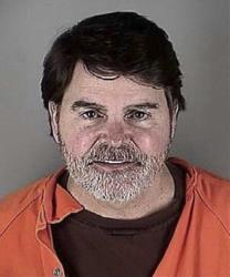 A mug shot of Fox News anchor Gregg Jarrett.