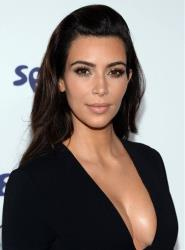 Kim Kardashian arrives at the NBCUniversal Cable Entertainment 2014 Upfront at the Javits Center on Thursday, May 15, 2014, in New York.