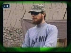 This 2010 image made from video shows Sgt. Bowe Bergdahl while a captive.