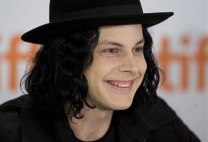 This Sept. 18, 2009 file photo shows musician Jack White taking part in a news conference in Toronto.