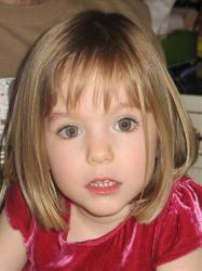 This undated file photo shows Madeleine McCann, who went missing in May 2007.