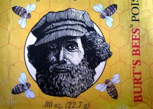 This photo taken on Friday, May 23, 2014, shows a wrapper from a package of Burt's Bees soap features an image of Burt Shavitz, the Burt behind Burt's Bees. Shavitz still lives in rural Maine after leaving the company that was later sold for millions by his former business partner,...