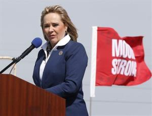 Oklahoma Gov. Mary Fallin speaks at a groundbreaking ceremony for a new medical center last week.
