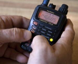 A Ham radio device in Silver Spring, Md, Saturday, Nov. 19, 2011.