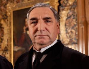 Jim Carter as Mr. Carson from the popular series Downton Abbey.