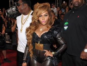 This Aug. 25, 2013 file photo shows Lil' Kim at the MTV Video Music Awards in the Brooklyn borough of New York.
