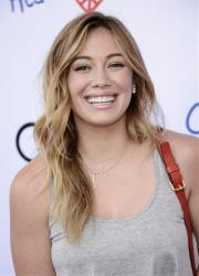 Actress Hilary Duff arrives at the Children Mending Hearts Style Sunday on Sunday, June 9, 2013 in Beverly Hills, Calif.