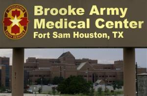Bowe Bergdahl arrived at Brooke Army Medical Center in San Antonio, Texas this morning.