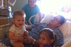 Jerimiah Willey and his three children.