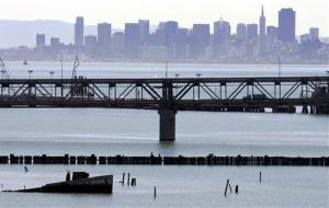 This 2009 file photo shows the Richmond Bridge in Richmond, Calif.