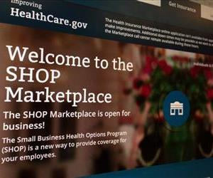 FILE - This Wednesday, Nov. 27, 2013, file photo, taken in Washington, shows part of the HealthCare.gov website page featuring information about the SHOP Marketplace. People who have accounts on the enrollment website for President Barack Obama's signature health care law are being told to change their passwords following...
