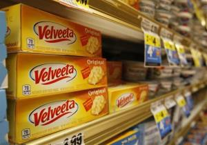 Blocks of Velveeta on sale in the dairy aisle of the Bi Lo grocery store in the St. Elmo area of Chattanooga, Tenn. on Wednesday, Jan. 8, 2014.