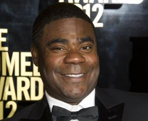This April 28, 2012 file photo shows Tracy Morgan at The 2012 Comedy Awards in New York.