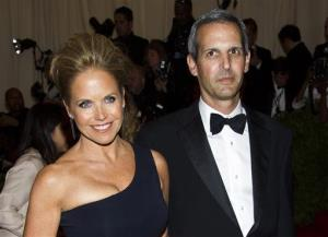 In this May 6, 2013, file photo, TV personality Katie Couric, left, and John Molner attend The Metropolitan Museum of Art's Costume Institute benefit in New York.