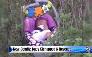 A screen shot of the baby from Click2Houston.com video.