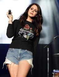 Lana Del Rey performs in concert during the Sweetlife Festival at Merriweather Post Pavilion on Saturday, May 10, 2014, in Columbia, Md.