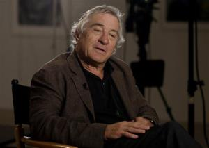 Robert De Niro, during an interview earlier this month.