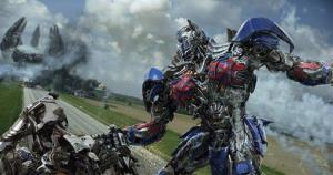 This photo released by Paramount Pictures shows Optimus Prime in a scene from the the film, Transformers: Age of Extinction.