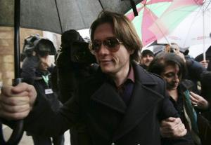 Raffaele Sollecito arrives to attend the final hearing before the third court verdict for the murder of British student Meredith Kercher, in Florence, Italy, Thursday, Jan. 30, 2014. The first two trials produced flip-flop verdicts of guilty then innocent for Kercher former roommate, American student Amanda Knox, who is not...