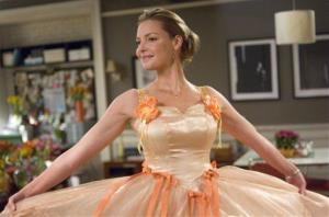 Katherine Heigl during a scene from 27 Dresses.