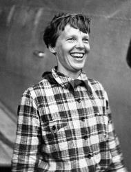 Amelia Earhart in 1937.
