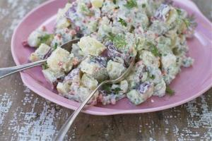 A potato salad that probably cost less than $17,000.