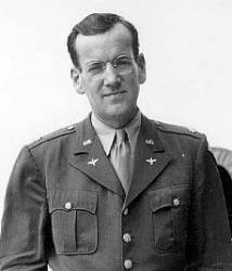 Glen Miller is seen during his service in the US Army Air Corps.