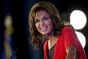 In this June 15, 2013 file photo, Sarah Palin speaks during the Faith and Freedom Coalition Road to Majority 2013 conference in Washington.