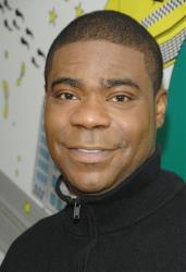 Actor Tracy Morgan poses backstage after taping an appearance on MTV's Total Request Live at MTV Studios, Tuesday, Jan. 8, 2008 in New York.