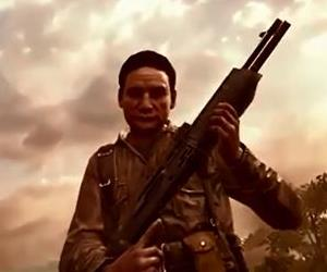 A digital version of Manuel Noriega is seen in this screenshot from a Call of Duty Black Ops 2 cut scene.