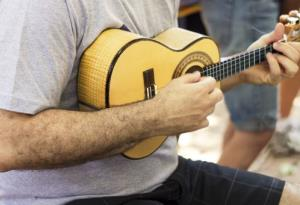 A 97-year-old vet says his retirement home kicked him out for his ukulele playing.