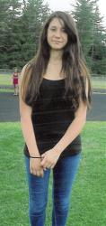 This undated file photo provided by the Conway, N.H., Police Department, shows Abigail Hernandez, 14, of North Conway, NH, who disappeared on Oct. 9, 2013, after leaving school. New Hampshire.