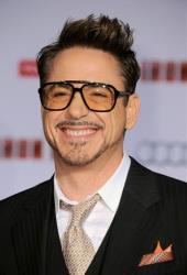 Actor Robert Downey Jr. arrives at the world premiere of Marvel's Iron Man 3 at the El Capitan Theatre on Wednesday, April 24, 2013, in Los Angeles.