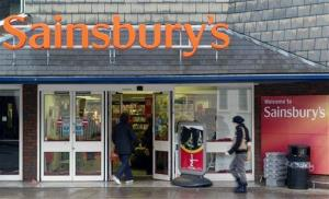 Old food will keep the lights on at the Sainsbury's in Cannock, Staffordshire.