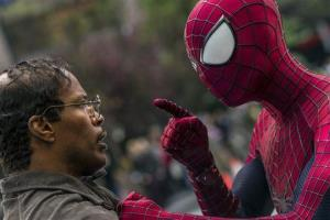 A guy in a Spider-Man outfit wasn't exactly acting heroic yesterday.