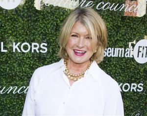 This Sept. 4, 2013 file photo shows Martha Stewart at the 2013 Couture Council Award Luncheon in New York.