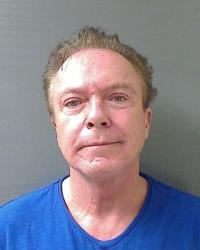 This Wednesday, Aug. 21, 2013 booking mug released by the Schodack (NY) Police Department shows actor-singer David Cassidy.
