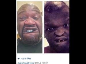 Jahmal Binion is suing Shaq for mocking his genetic disorder on Instagram.