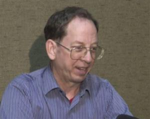 In this image taken from video, US citizen Jeffrey Edward Fowle speaks at an undisclosed location in North Korea Friday, Aug. 1, 2014.